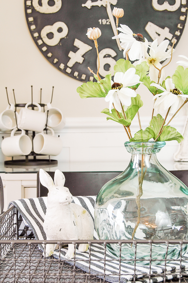 Decorating with Dollar Tree flowers