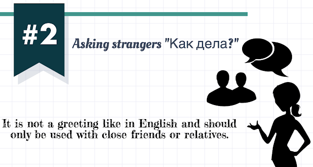 differences in russian and english greetings