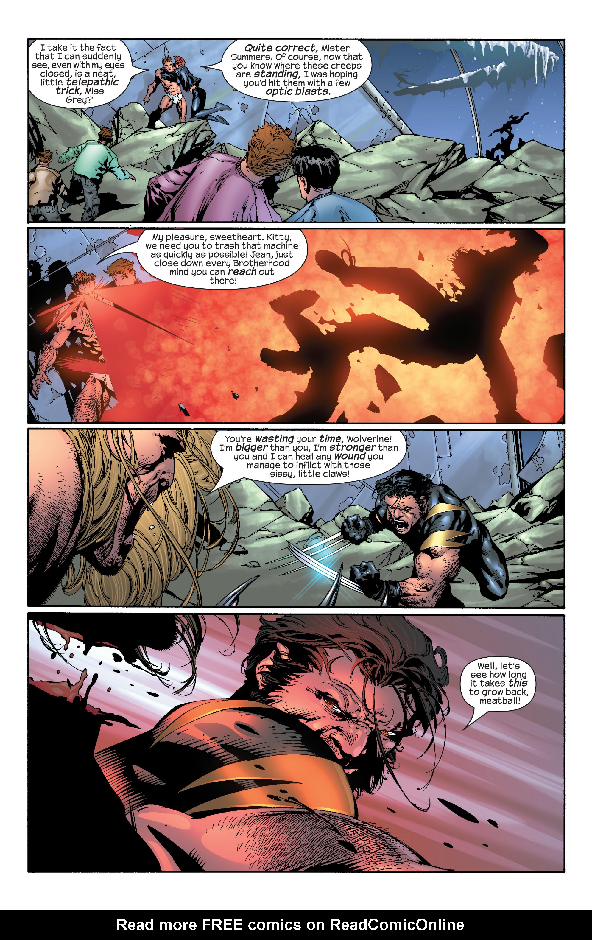 Read online Ultimate X-Men comic -  Issue #30 - 19