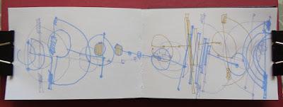 lines circles colour blind drawings verna vogel