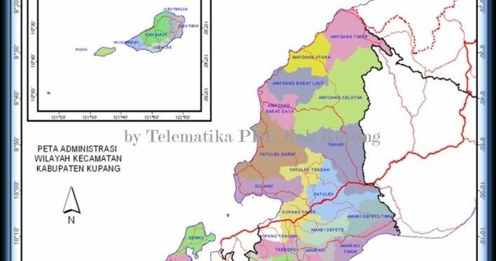 geografis kabupaten kupang kepulauan ntt