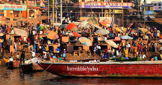 CELEBRATING LIFE!!: Incredible Varanasi!