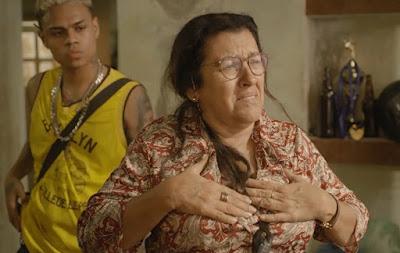 Lurdes em cena da novela Amor de Mãe, da Globo (Foto: Reprodução)