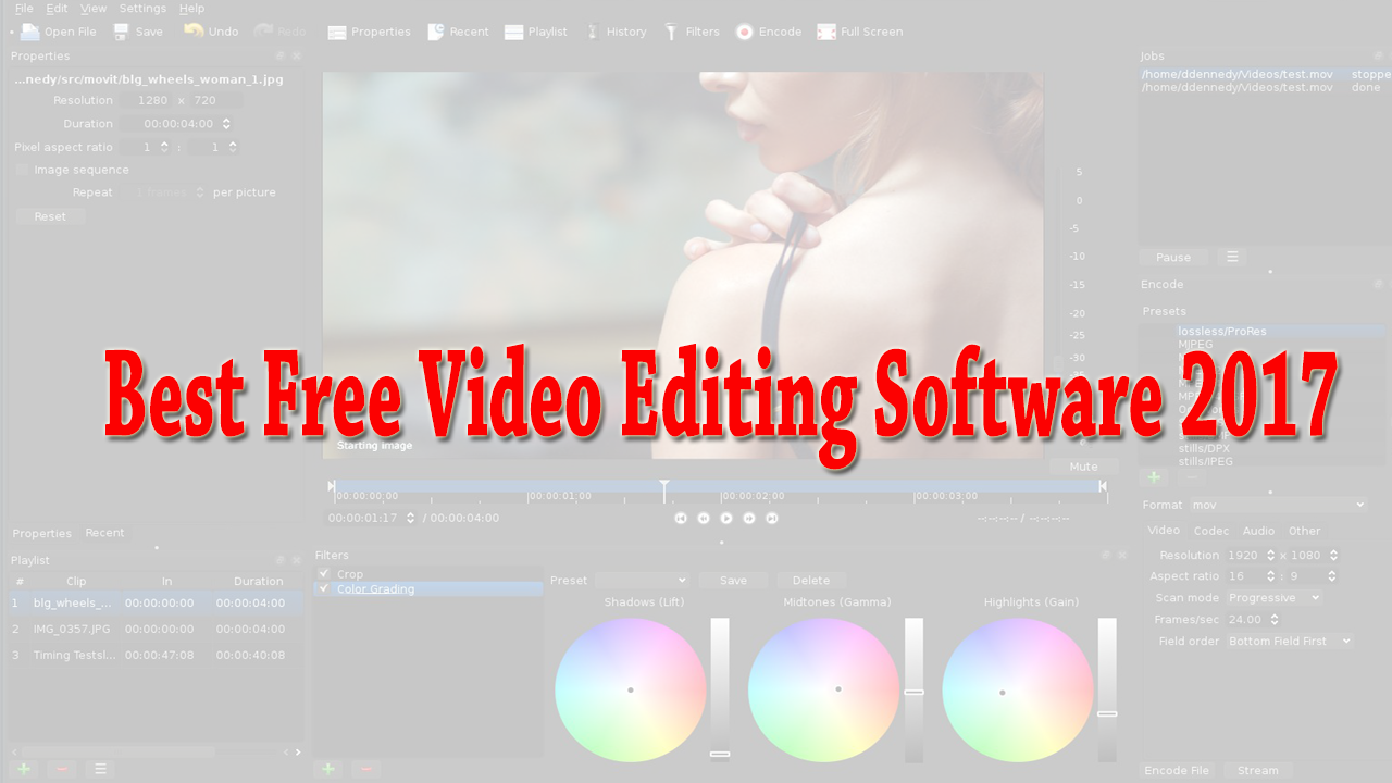 free video editing software for mac 2018