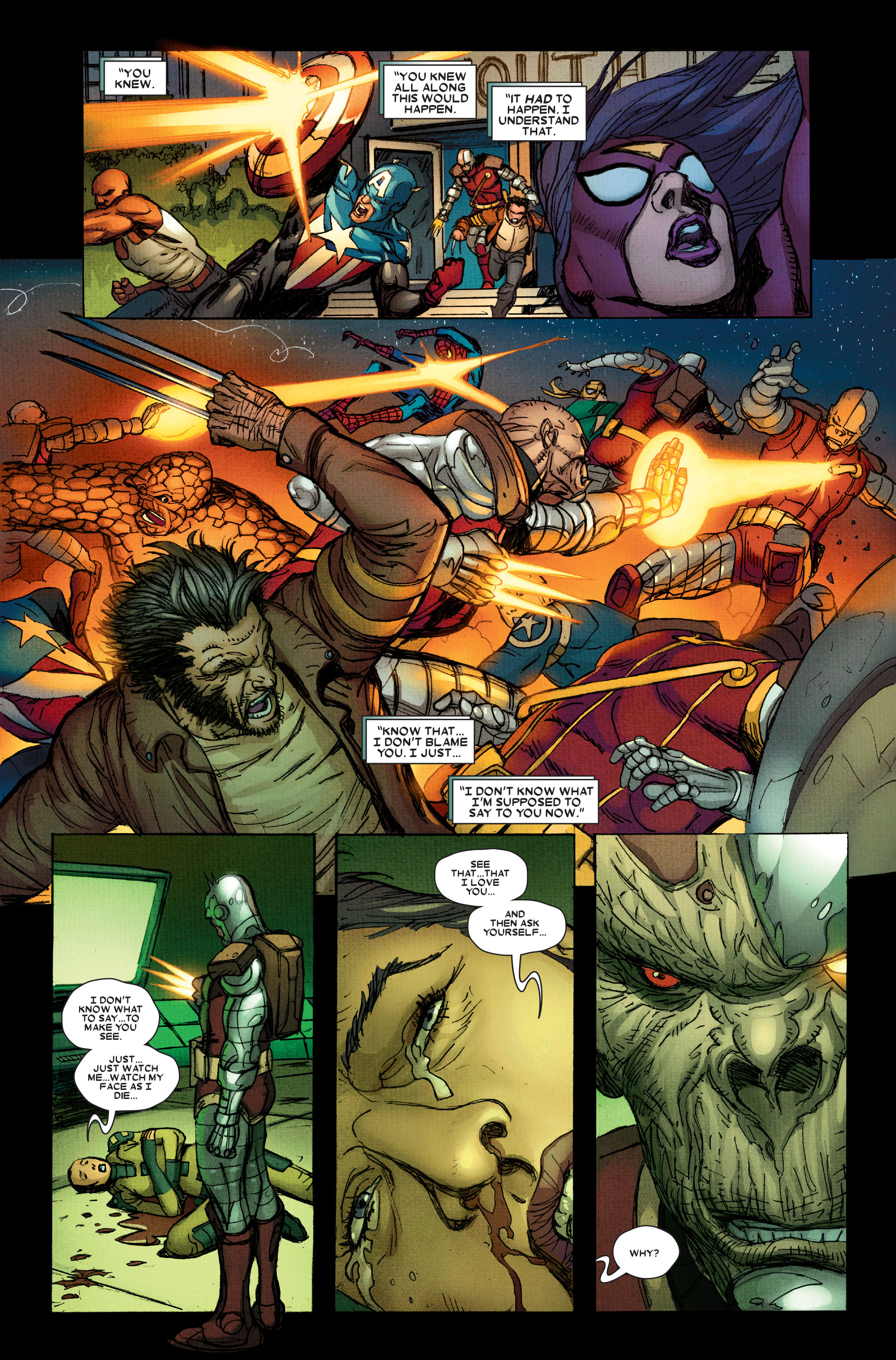 Read online Wolverine: Weapon X comic -  Issue #15 - 17