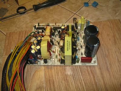 демонтаж высоковольтного радиатора