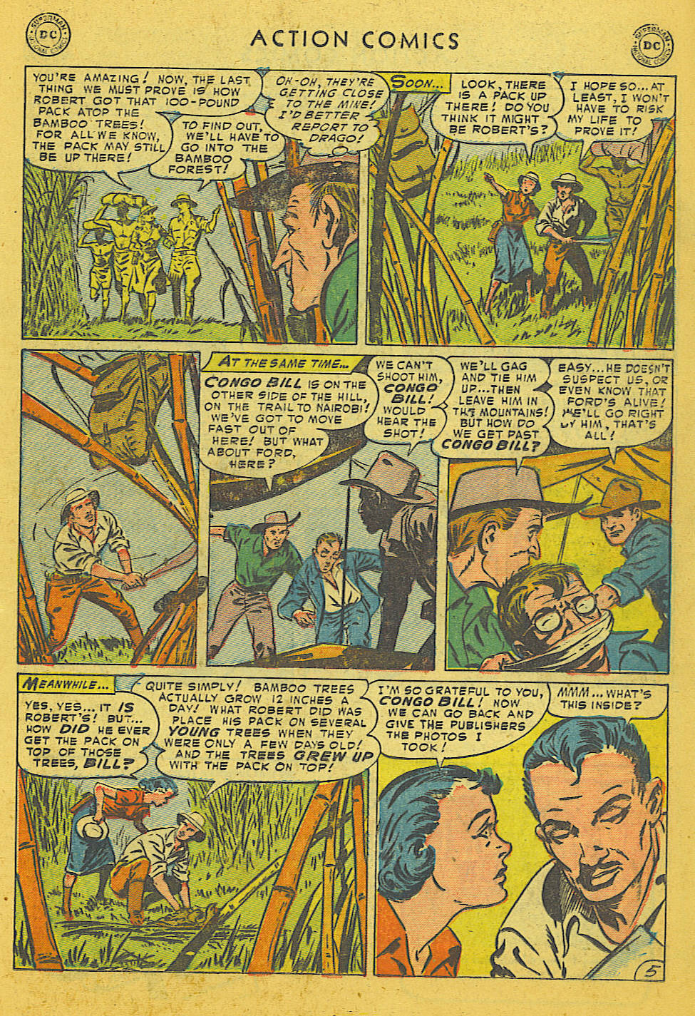Read online Action Comics (1938) comic -  Issue #186 - 19