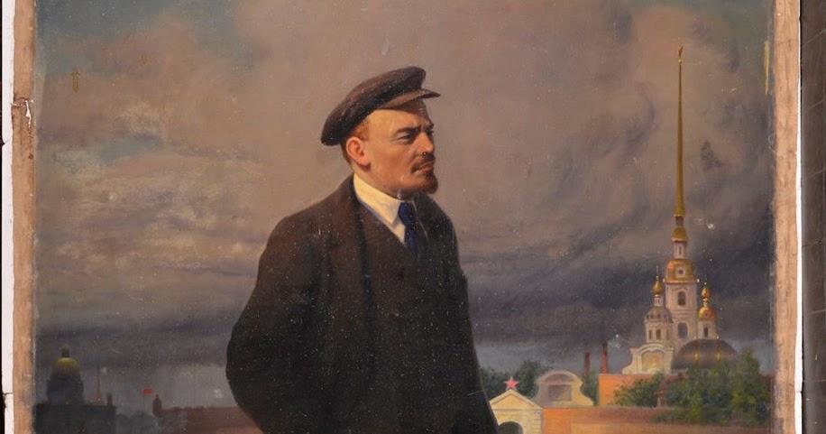 bensozia: Painting Lenin over the Tsar