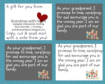 Free Cards to Snail Mail Your Grandchildren