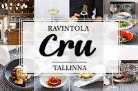 Ravintola Restoran Cru_Tallinna_Tallinnan parhaat ravintolat_White Guide_Andalusian auringossa_ruokablogi_matkablogi_1