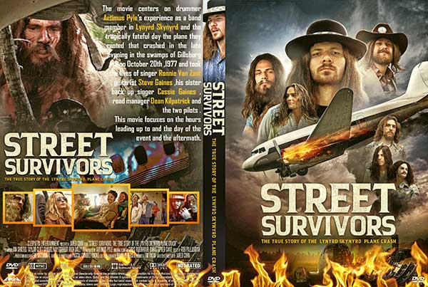 Street Survivors The True Story of the Lynyrd Skynyrd Plane Crash (2020) DVD Cover