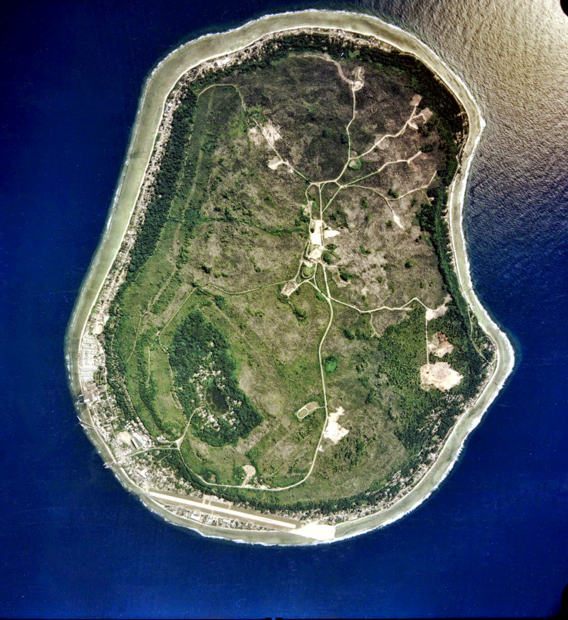 NAURU, SOUTHWESTERN PACIFIC 10 Most Beautiful Island Countries in the World