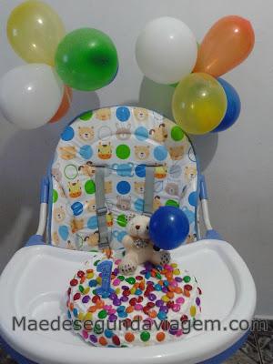decoraçao simples aniversario 1 ano