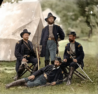 Civil War Photos Turned into Color