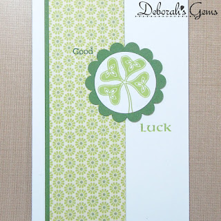 Good Luck sq - photo by Deborah Frings - Deborah's Gems