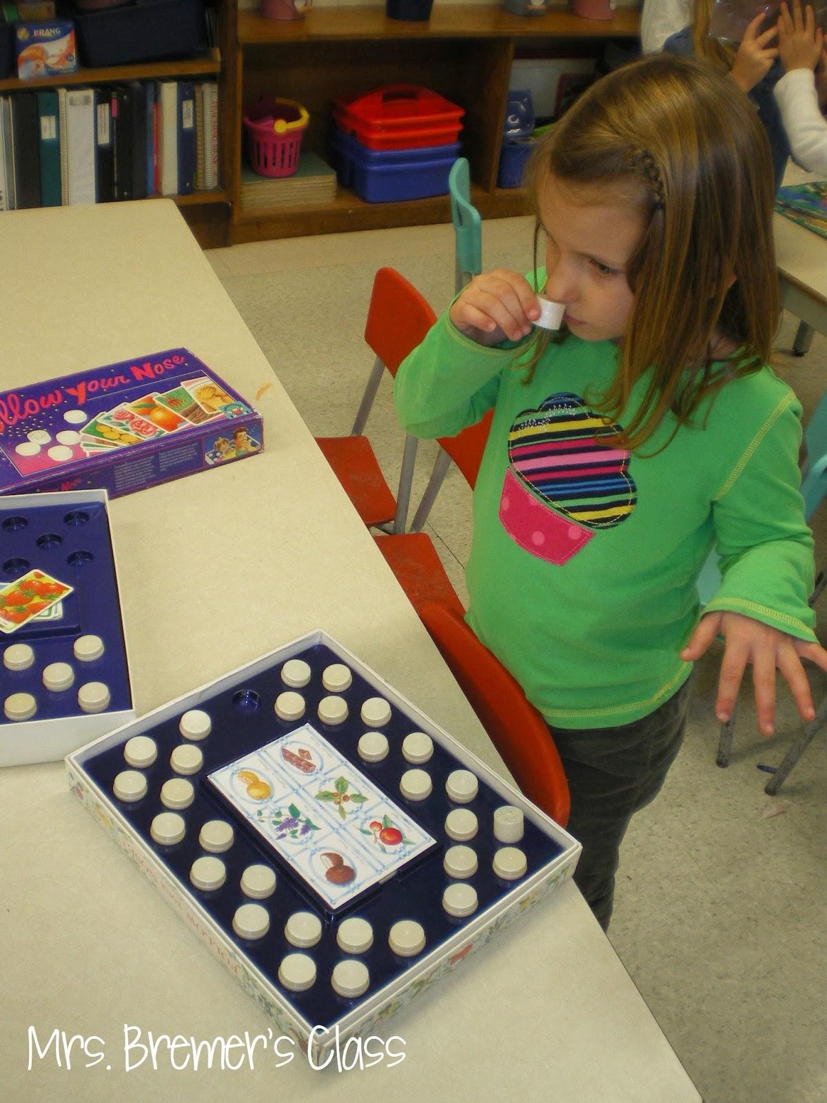 Mrs Bremer S Class Five Senses Activities For