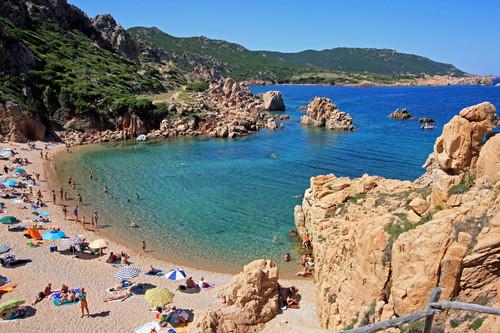 Playa de Li Cossi en Cerdeña - que visitar