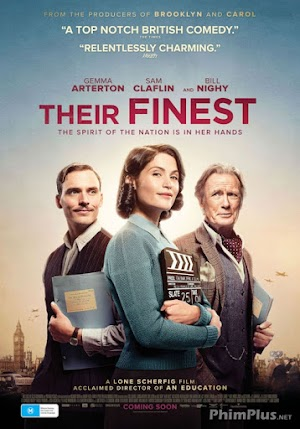 Phim Nữ Biên Kịch - Their Finest (2017)