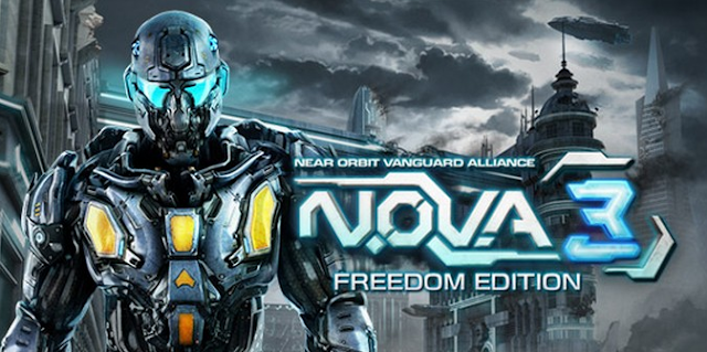 N.O.V.A. 3 Freedom Edition MOD APK [Unlimited Money] v1.0.1d With Data