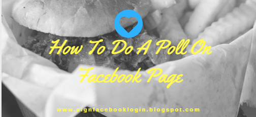 How To Do A Poll On Facebook Page