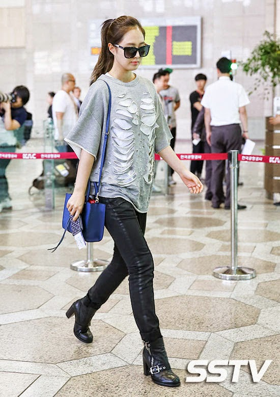 airport fashion snsd yuri official korean fashion