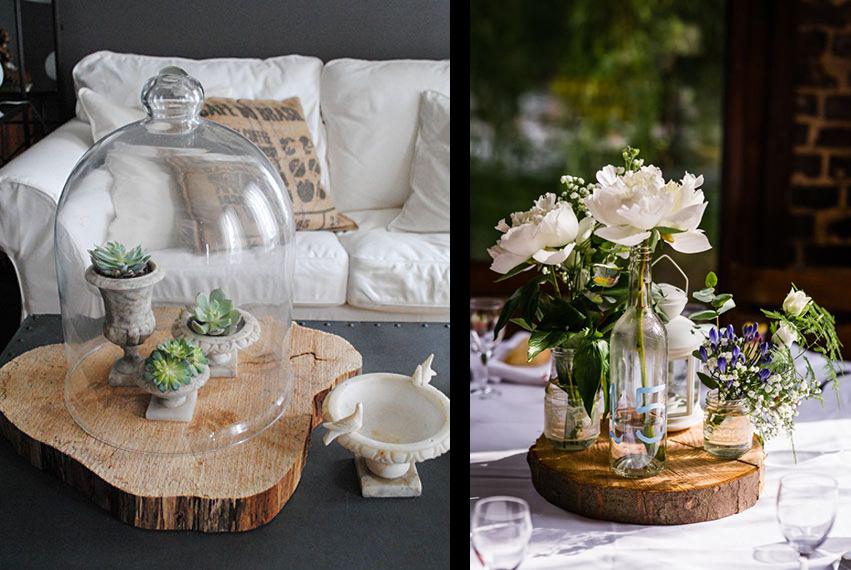 la fabrique d co diy id es d co avec des souches des b ches ou du bois flott. Black Bedroom Furniture Sets. Home Design Ideas