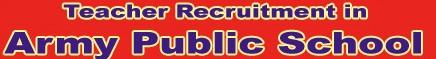 Army Public Schools (APS) Teacher Recruitment 2016 Eligibility & Apply Online