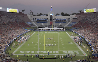 NFL attendance: Rams and Chargers combined less than Texas-USC game