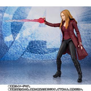 "S.H.Figuarts Scarlet Witch de ""Avengers: Endgame"" - Tamashii Nations"