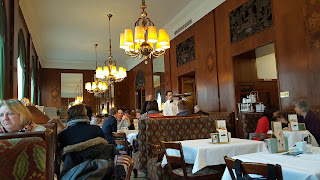 Inside the cafe Landtmann Vienna