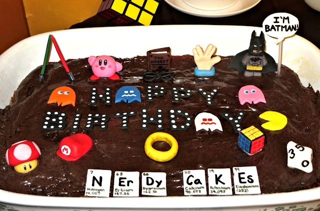 Nerdy Thirty Cake 1