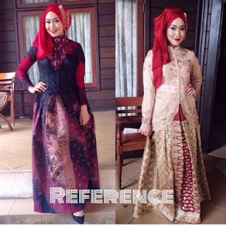 Model Baju Muslim Terbaru Untuk Pesta