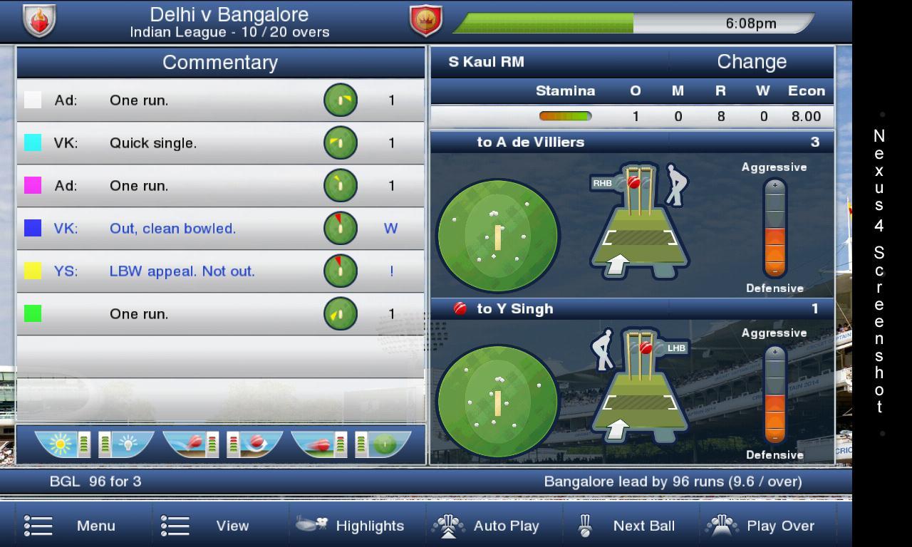 Cricket Captain 2017 PC, iOS, AND | gamepressure.com