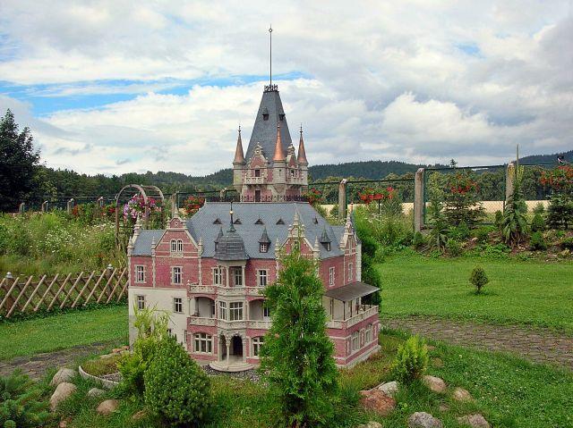 miniatury, Dolny Śląsk, pałac