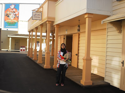 Surau  prayer room Warner Bros Gold Coast