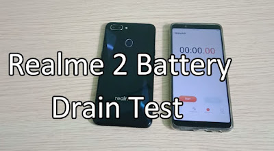 Realme 2 Charging Time & Battery Drain Test