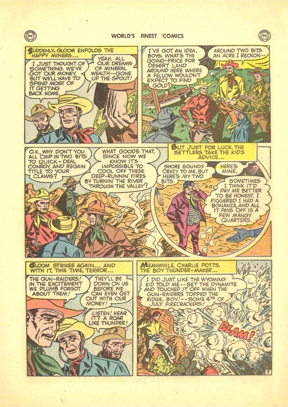Read online World's Finest Comics comic -  Issue #50 - 47