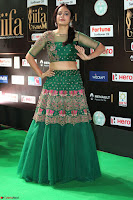 Nandita Swetha in a tight Green Choli Ghagra at IIFA Utsavam Awards March 2017 ~ 080.JPG
