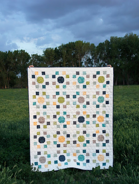 Spot On quilt pattern from A Bright Corner - a Layer Cake pattern in four sizes - crib, throw, twin, queen