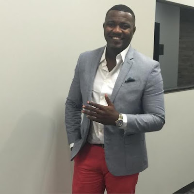 Ghanaian actor, John Dumelo escaped death from  Nigeria armed  robbers