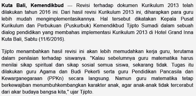 gambar info kemdikbud tentang kurikulum 2013
