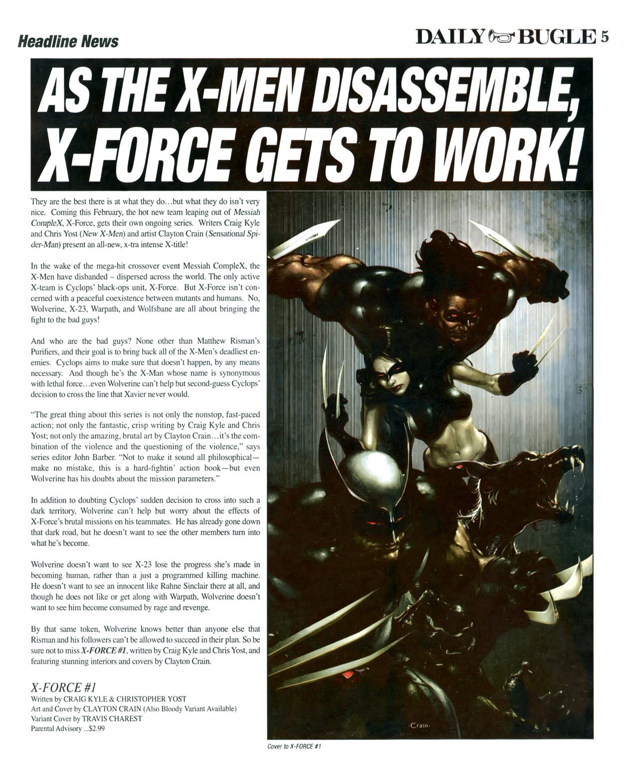 Read online Daily Bugle (2006) comic -  Issue #17 - 6