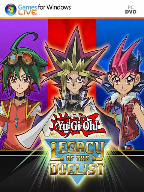 تحميل لعبة Yu Gi Oh Legacy of the Duelist برابط مباشر + تورنت