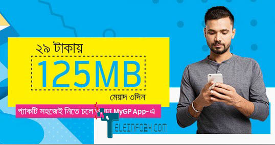 GP 125 mb internet offer 2017