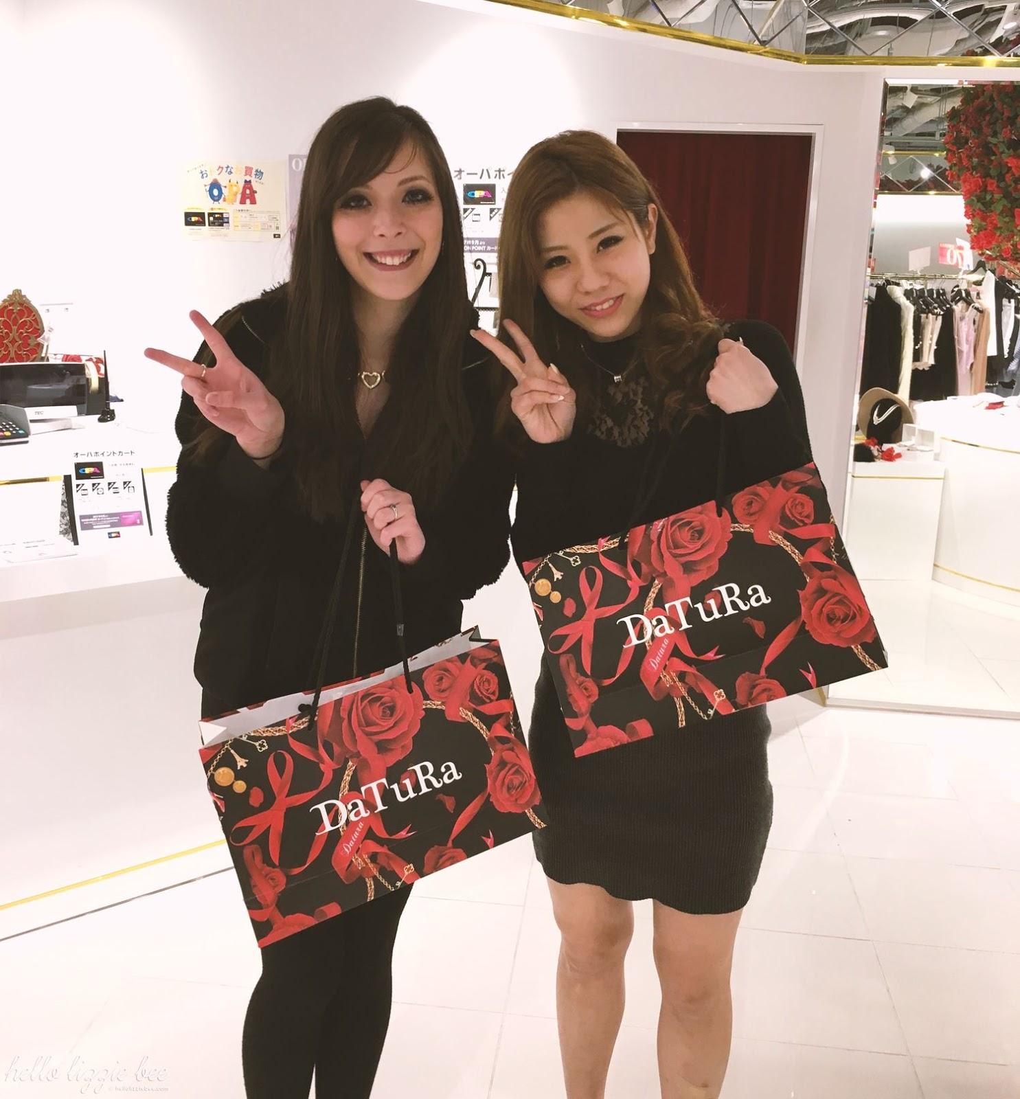 DaTuRa Osaka shop staff, agejo, ane agejo