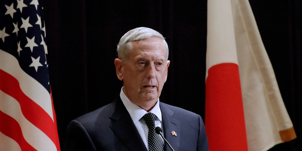 US Defence Secretary Jim Mattis new role - dealing with Trump anxiety