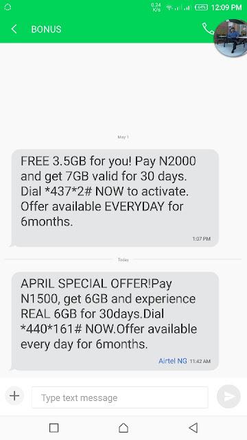 cheap airtel data subscription