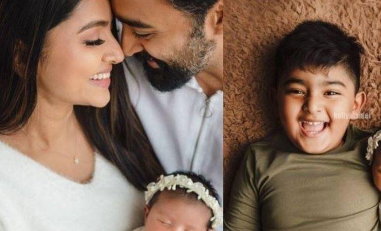 Sneha and Prasana second baby pics