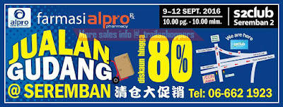 Alpro Pharmacy Warehouse Sale