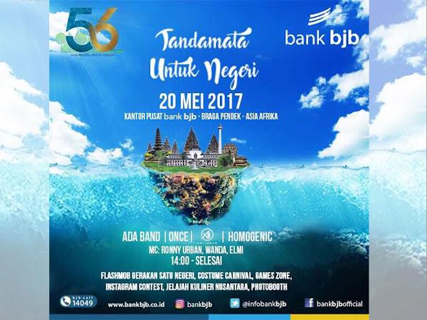 Event Tandamata Untuk Negeri HUT Bank BJB ke-56